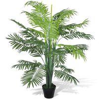 Palmeira Fénix Artificial, com Vaso, 130 cm