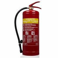 Smartwares Extintor de incêndio SB6 espuma 6 L classe AB aço 10.015.05