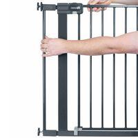 Safety 1st Extensão portão de segurança 7 cm metal preto 2428057000