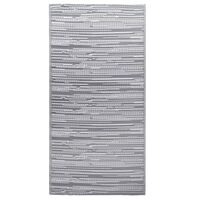vidaXL Tapete de exterior 80x150 cm PP cinzento