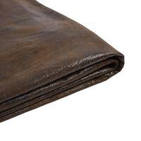 Capa marrom para a cama 160x200 cm FITOU
