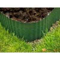 Nature Limitador de bordas de jardim 0,25x9 m verde