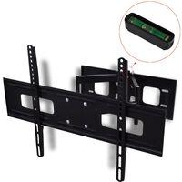 vidaXL Suporte TV parede 3D braço duplo inclinação rotação 600x400mm