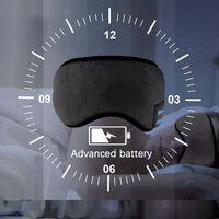 Máscara de dormir com fones de ouvido Bluetooth 5.0 - preto