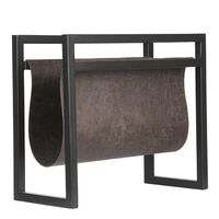 LABEL51 Porta-revistas 45x20x38 cm antracite