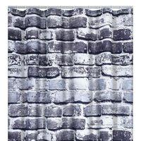 RIDDER Cortina de duche Wall 180x200 cm