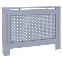 vidaXL Cobertura de radiador 112x19x81 cm MDF antracite