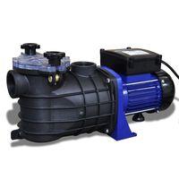 Bomba elétrica para piscina 500W / Azul