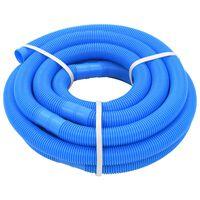 vidaXL Mangueira de piscina azul 38 mm 9 m