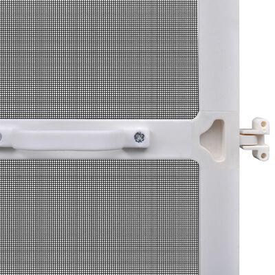 vidaXL Tela anti-insetos articulada para portas 100 x 215 cm branco