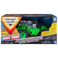 Monster Jam Camião Grave Digger com RC 1:24