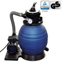 vidaXL Bomba de filtro de areia 400 W 11000 l/h