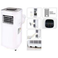 Excellent Electrics Ar condicionado elétrico 1500 W com RC branco