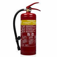 Smartwares Extintor de incêndio espuma 3 L classe AB aço FEX-15230