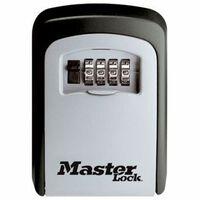 Master Lock 540EURD Cofre com chave montado na parede