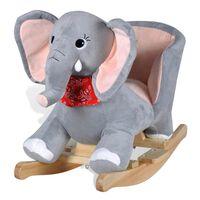 vidaXL Elefante de baloiço