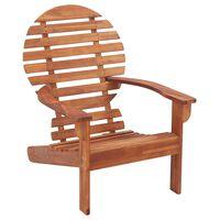 vidaXL Cadeira Adirondack em madeira de acácia maciça