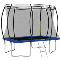vidaXL Conjunto de trampolim retangular 274x183x76 cm 150 kg