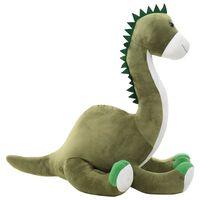 vidaXL Dinossauro brontossauro de peluche verde