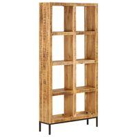 vidaXL Estante 80x25x175 cm madeira de mangueira maciça