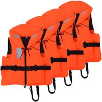 vidaXL Auxiliares de flutuação 4 pcs 100 N 30-40 kg