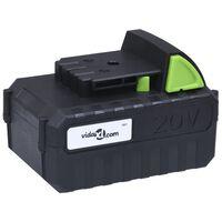 vidaXL Bateria 20V 4000 mAh iões de lítio