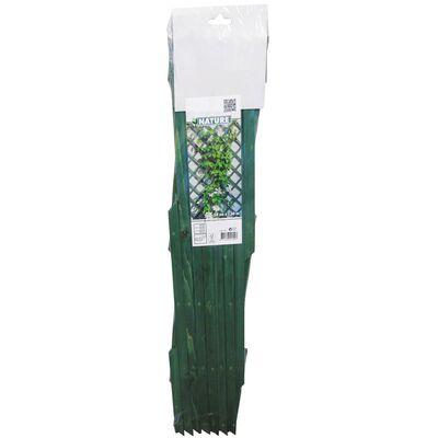 Nature Treliça de jardim 50x150 cm madeira verde