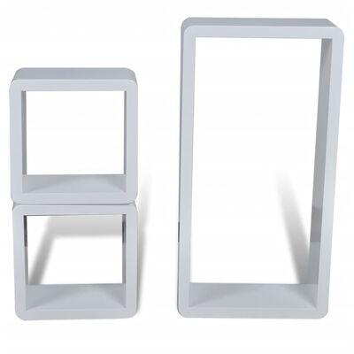 Prateleira cubo 3 peças