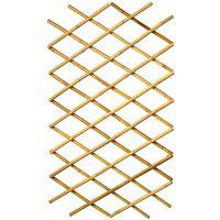 Nature Treliça de jardim 70x180 cm bambu 6040721