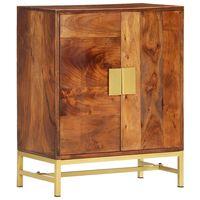 vidaXL Aparador 60x35x75 cm madeira de acácia maciça