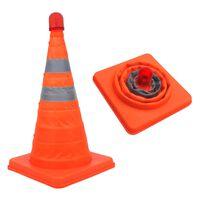 ProPlus Cone de segurança dobrável com LEDs 540319