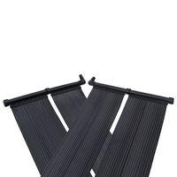 vidaXL Painéis aquecedores solares de piscina 4 pcs 80x310 cm