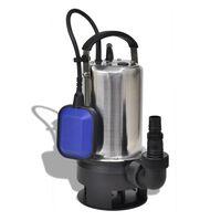 vidaXL Bomba submersível de aguas sujas 1100 W 16500 L/h