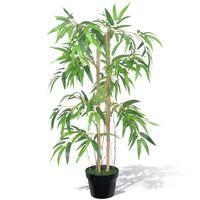 "Arvore de bambu artificial ""Twiggy"" com vaso 90 cm"