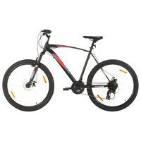 vidaXL Mountain Bike 21 Speed 29 inch Wheel 53 cm Frame Black (92340+92342)