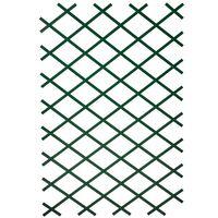 Nature Treliça de jardim 100x200 cm PVC verde 6040704