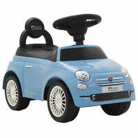 vidaXL Carro de passeio Fiat 500 azul