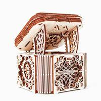 WOODEN CITY Kit/maqueta caixa misteriosa à escala madeira