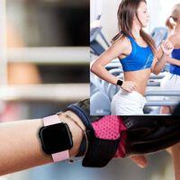 Pulseira Fitbit Versa borracha - rosa - S