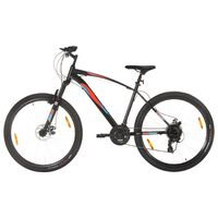 vidaXL Mountain Bike 21 Speed 29 inch Wheel 48 cm Frame Black (92339+92342)