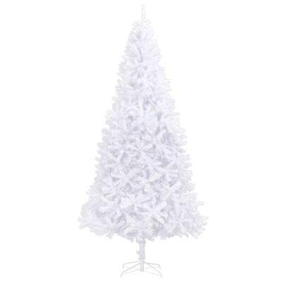 vidaXL Árvore de natal artificial 300 cm branco
