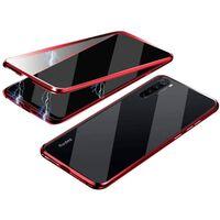 Capa magnética para telefone celular vidro temperado de ambos os lados