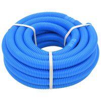 vidaXL Mangueira de piscina azul 32 mm 12,1 m