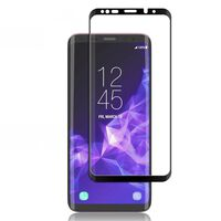 Protetor de tela Samsung Galaxy S9 Plus em vidro temperado / 3D curvo