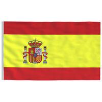 vidaXL Bandeira da Espanha 90x150 cm