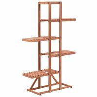 vidaXL Suporte para plantas madeira de cedro 86x36x139 cm
