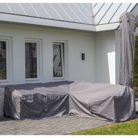 Madison Cobertura para lounge de exterior 270x270x70 cm cinzento