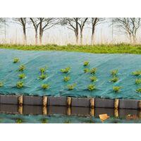 Nature Cobertura de solo p/ controlo de ervas 12,1x 25 m verde