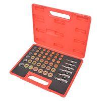 Conjunto ferramenta para reparação de drenagem de oléo