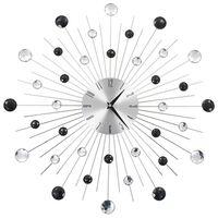 vidaXL Relógio de parede com movimento quartzo design moderno 50 cm